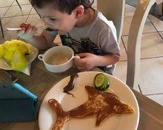 Bandos pancake porpoise Pancake Art, Maldives, Pancakes, Pudding, Desserts, Food, The Maldives, Tailgate Desserts, Deserts