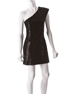Halston Heritage Sequin Dress