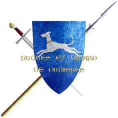 Hugues and Girard de Cubières. They are from Rouergue and took the Cross in 1248 to join the sixth crusade.