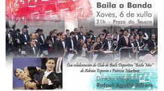 Cartel de la actuación en Pontevedra Sash, Sporty, Poster