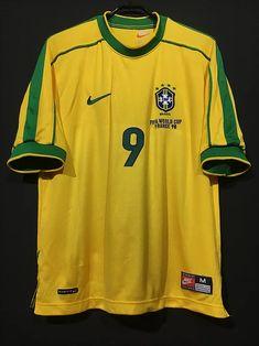 Old Football Shirts, Classic Football Shirts, Football Gif, Football Jerseys, Ronaldo, Fifa World Cup France, International Football, Retro Shirts, New York Yankees