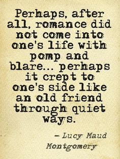 Anne of Green Gables Quote.