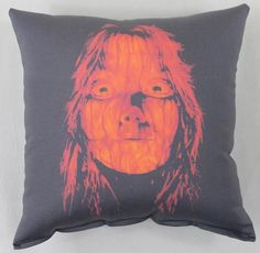 Carrie Throw Pillow. This item was sold by Horror Decor at MoreThanHorror.com