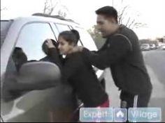 Krav Maga for Women : Defend Against The Behind Choke for Womens Self-Defense
