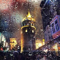 Galata Tower, Istanbul. Published by @olayseven in Instagram