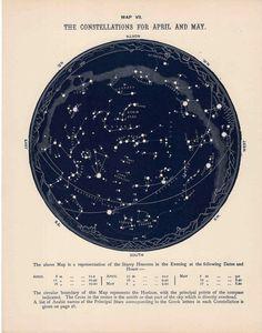 21 Best Vintage Star Maps images