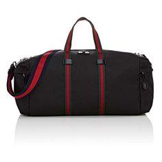 Gucci Men's Duffel Bag (55.445 RUB) ❤ liked on Polyvore featuring men's fashion, men's bags, black, mens canvas bag, gucci mens bag, men's duffel bags, mens duffle bags and men's canvas duffle bag
