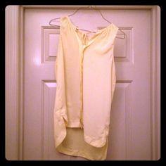 NY & C Company Yellow Shirt Yellow shirt from NY& Company size small. New York & Company Tops