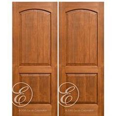 Escon Model # AVP6002-2 Knotty Alder, Single Doors, American Hardwood, Traditional Interior, Paneling, Home Decor, Home Styles, Traditional Doors, Doors Interior