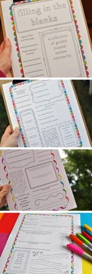 50 FREE Printable Journal Pages