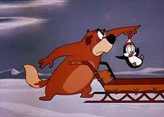 Chilly Willy (Picolino, Smedley e Maxie) / 1953 / Walter Lantz Productions #cartoons