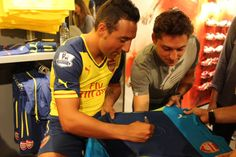 #Arsenal #Puma #SantiCazorla #Soccer #Football