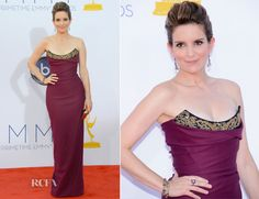 Tina Fey In Vivienne Westwood – 2012 Emmy Awards. Never seen her look so good!