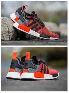 adidas Originals NMD: Red/Grey