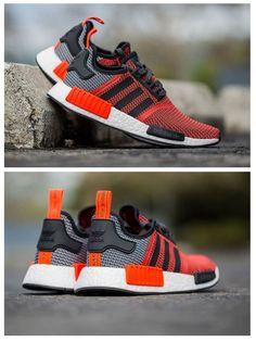 adidas Originals NMD: Red/Grey