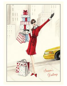 BONNIE MARCUS Greeting Cards - Shopping Greeting