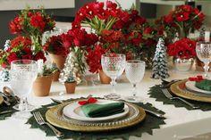 Ideia para mesa de Natal