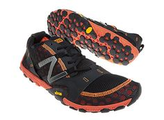 Minimus 10v2 Trail, Black with Orange & Grey