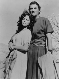 Gregory Peck and Susan Hayward