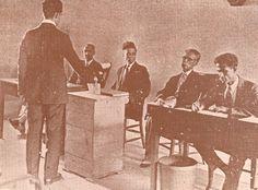 En 1927 se celebraron elecciones para elegir Diputados a una Asamblea Revisora de la Constitución, la cual prolongó el período de gobierno de Horacio Vásquez y sus Congresistas de cuatro a seis años, es decir, hasta 1930. Aquí aparece una de las mesas electorales de la capital.
