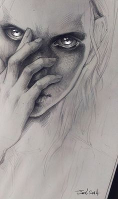 WIP. Girl by sashajoe.deviantart.com on @DeviantArt