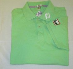 Tour issue footjoy golf shirt sz m red fly emirates for Footjoy shirts with titleist logo