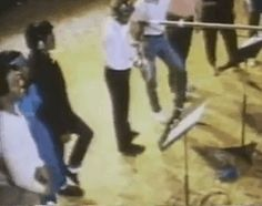 "michael jackson, 1981 ""practicing the toe stand, which he went on to debut at motown 25 a year later, and use in performances for the rest of his career """