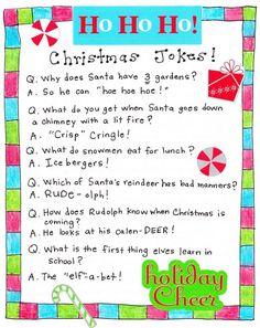 Christmas Jokes for Kids. Funny Christmas Poems, Merry Christmas, Christmas Concert, Family Christmas, Christmas Humor, Christmas Holidays, Christmas Ideas, Christmas Present Jokes, Christmas Crafts