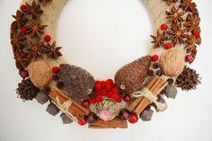 Model: Anasonlu Ay, door wreath, wreath, diy, handmade, doityourself, gift, giftideas