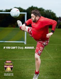 If you can't play, manage