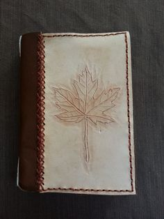 Maple Leaf Journal  Ready to Ship by BoondockStudios on Etsy, $75.00