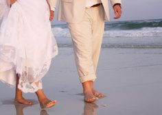 beach wedding pic!