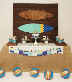 Kara's Party Ideas presents a Vintage Modern Surfer Birthday Party with tons of style! See it here! Birthday Gifts For Husband, Baby Boy Birthday, Summer Party Themes, Birthday Party Themes, Surfer Party, Beach Ball Party, Vintage Surf, Vintage Modern, Swimming Party Ideas