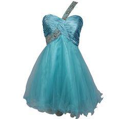 b193897cc4530 turquoise one shoulder cheap tutu junior plus size prom dresses