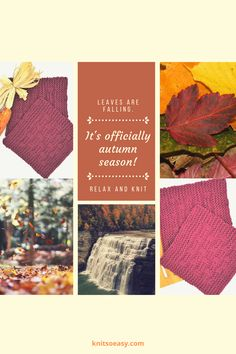 Fall into the season! Pattern featured: Linville Fall Knitting Patterns, Easy Knitting, Knitting Stitches, Knitting Projects, Knitted Hats Kids, Knitted Baby Blankets, Kids Hats, Hello Autumn, Knitting For Beginners