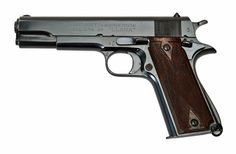 This is a Llama Model IV, a late production World War II Spanish automatic pistol design based on the Colt M1911 produced for German commercial sales to authorized military and political officials.