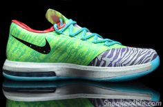 what the kd 6 sneakers 4 The Nike What The KD 6 Celebrates Kevin Durants Best Season Yet