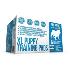 Bulldogology XL Premium Puppy Pads and Dog Training Pad with Adhesive Sticky Tape Attractant and Neutralize Odor Large Dog Pee Pads - (24x35) 6 Layers with Extra Quick Dry Bullsorbent® Polymer Tech *** Be sure to check out this awesome product.