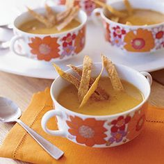 Creamless Soup Recipes - Soups Without Cream - Sweet Potato Chipotle Apple Soup