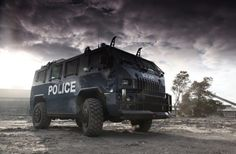 Zombie destroyer? Look no further than Paramount Group's Maverick: S.W.A.T. APC Click to find out why... #spon #autoawesome