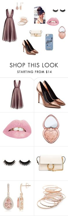 """""""Future prom outfit"""" by trenecejones-1 ❤ liked on Polyvore featuring H&M, Alexander Wang, Too Faced Cosmetics, Chloé, Red Camel, Skinnydip, Prom and PROMNIGHT"""