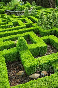 Bourton House gardens.