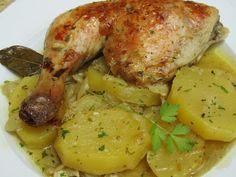 Pollo a la impotancia (Blog con recetas sencillas, rápidas y económicas de cocina tradicional realizadas por Ana Sevilla)
