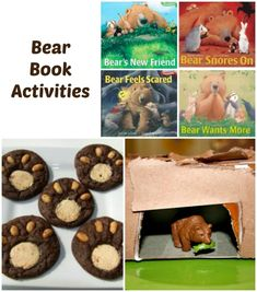 Activities and Lesson Plans to go along with Karma Wilson's Bear Books