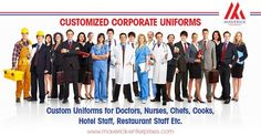 Maverick Enterprises is one of the leading Manufacturer & supplier of unique Customized Uniforms, Customized Printed Stationeries for Corporates, Facility Management Companies, Hospitals, Hotels, Institutional, Schools, Colleges & all service sectors in India, UAE, Kingdom of Behrain, Kingdom of Soudi Arabia & having the global presence. www.maverick-enterprises.com