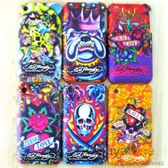 Ed Hardy Design iPhone Cases Mix 6 in Style A