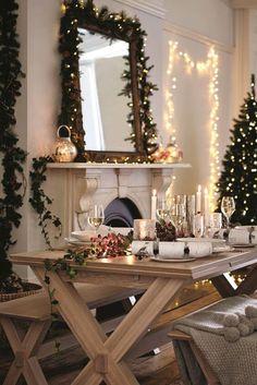 Weihnachtsdeko weibes haus melania
