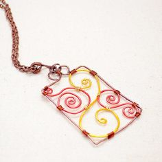 The instructions will guide you to make a wire wrapped triple-colored pendant in Chinese wood carving pattern.