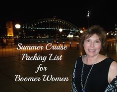 Make your cruise life easier. Download my personal Summer Cruise Packing List for Boomer Women. All you have to do is subscribe to My Itchy Travel Feet and it's yours! Subscribe here: http://myitchytravelfeet.com/newsletter-signup/