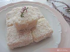 Fehércsokis kókuszkocka | Sütidoboz.hu Cake Cookies, Food And Drink, Cooking Recipes, Tasty, Sugar, Cakes, Gift, Kuchen, Cake Makers